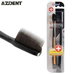 Carbón nano cepillo de dientes de bambú negro niños 2 unds/pack brosse a abolladuras de viaje ultra suave cepillo de dientes cepillo de dientes para adultos al por mayor