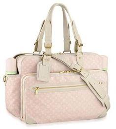 This Louis Vuitton Monogram Mini Lin Diaper Bag retails for $1870 as of 2007! #LV