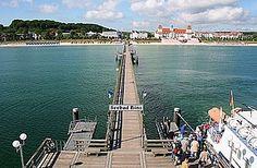 Ostseebad Binz auf Rügen - das bekannteste Seebad der Insel.