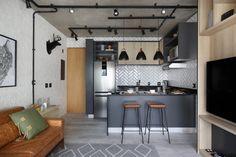 com estilo industrial Estilo Interior, Deco Studio, Design Typography, Eating Plans, Architecture, Minimalism, Household, Sweet Home, Loft