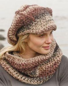 crochet pattern - boheme cap (and scarf)