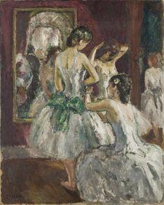 Jean-Louis-Marcel COSSON (1878-1956), Dans la loge. #Impressionism #Art…