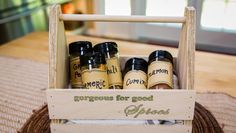 Do It Yourself Spice Rack