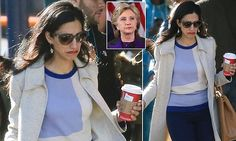 Hillary Clinton's closest aide wept as she went back to the Brooklyn headquarters of the doomed bid for the presidency. The future for Abedin, 40, is unclear and her marriage is over.