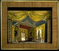 Set model Rossini's Barber of Seville   Messel, Oliver Hilary Sambourne   V Search the Collections