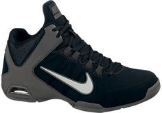 separation shoes c76e0 b8ed8 Amazon.com  Nike Men s NIKE AIR VISI PRO IV NBK Basketball Shoes (9.5 D(M)  US, BLACK ANTHRACITE EMBOSS NATURAL MEDIUM GREY)  Shoes