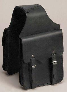 Black Leather Saddle Bag at Cowgirl Blondie's Dumb Blonde Boutique http://dumbblondeboutique.com/
