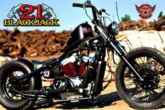 21 BLACKJACK   VLX 600 - HOUSTON RETRO BOBBERS