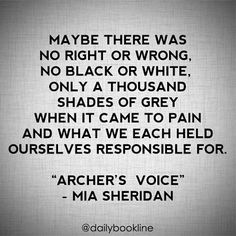 Archer's Voice by Mia Sheridan | Dailybookline @dailybookline #bookstagram #igb...Instagram photo | Websta (Webstagram)
