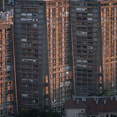 The Rockets (example of socialist architecture)  Zagreb (Croatia) Photographer: Damir Fabijanić