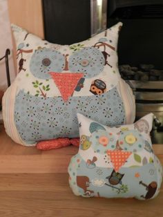 free pattern for owl pillow