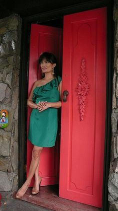 with Daphne Osena Main Door, That Look, Doors, Living Room, Classic, People, Red, Beautiful, Home