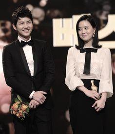 Song Joong Ki and Moon Chae Won