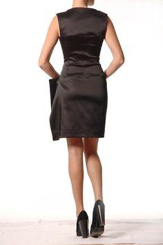 Venette Waste - Waste Couture - Corset Pareo dress