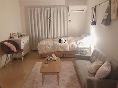 Dream Rooms, Dream Bedroom, First Apartment Decorating, Cute Room Decor, Small Room Design, Aesthetic Room Decor, Minimalist Room, Cozy Room, My New Room