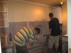 This is what happens when Rob says 'Shall I take off a couple of tiles'.
