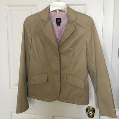 Gap Tan Blazer/Suit Jacket