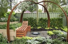 Achievable Gardens at MIFGS 2013 | GardenDrum     The Edible Persian Rug designed by Rebecca Heath