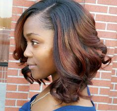 2019 Trendy Bob Hairstyles For Black Girls Trendy bob hairstyles for black girls. Bob hairstyles are cool, versatile, innovative and easy to maintain. Today you have plenty of techniques and various styles of Bob hairstyles. Messy Bob Hairstyles, Straight Hairstyles, Bob Haircuts, Popular Hairstyles, Black Hairstyles, Medium Haircuts, Gorgeous Hairstyles, Fashion Hairstyles, Hairstyles 2016