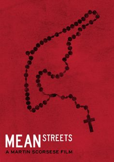 Minimalist Movie Poster: Mean Streets by Rob Deacon