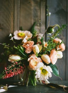 A friendship bouquet / via: Anthropologie