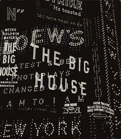 Walker Evans, New York City, 1930