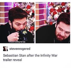 "607 Likes, 1 Comments - — Kate (@thighs.of.demise) on Instagram: ""This smug looking lil shit..it was nice knowing you all #sebastianstan #sebby #marvel"""
