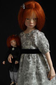 Laurence Ruet poupées dartiste bébés et poupées de collection\\ Laurence Ruet, Sculpteur des Poupées Ruet sculpts hyperrealistic dolls in polymer resin, each one unique, each designed and dressed entirely by hand.