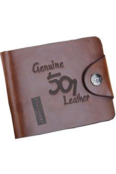 1f15165aa916 The Vintage Hollow Leather Men wallet is made of high quality leather with  polyester inner lining