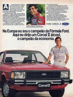 Ford Corcel II - Ayrton Senna - adv Brasil