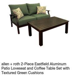 Deck furniture @ Lowes