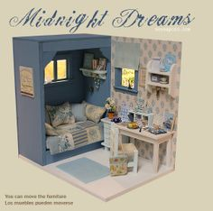 """Midnight Dreams"" Diorama by Nerea Pozo Art"