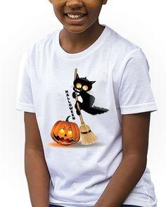 https://www.navdari.com/products-fk00093-HalloweenPumpknBlackCatonBroomKidsTshirt.html #HappyHalloween #Halloween #BLACKCAT #CAT #PUMPKINS #MOON #BATS  #KIDS #TSHIRT #CLOTHING #FORKIDS #SPECIALKIDS #KID #GIRLS #GIRLSTSHIRT