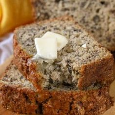 This is an easy Banana Bread recipe that makes soft and moist banana bread. Once… This is an easy Banana Bread recipe that makes soft and moist banana bread. Once you try this, it'll become your go-to to use ripe bananas. Banana Nut Crunch, Quick Banana Bread, Banana Nut Bread, Nut Bread Recipe, Easy Bread Recipes, Banana Bread Recipes, Recipe Recipe, 5 Star Banana Bread Recipe, Fluff Recipe