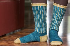 Ravelry: Karner Butterfly Socks pattern by Jennifer Raymond