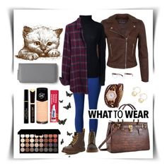 """""""Casual look!"""" by cordelia-fortuna ❤ liked on Polyvore featuring Disney, Miss Selfridge, Lands' End, Madewell, Dr. Martens, Tony Morgan, Witchery, Max Factor, Revlon and Aéropostale"""