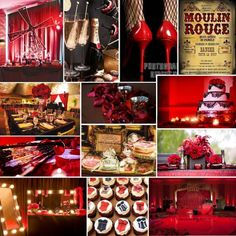 PRETTY PARTIES: MOULIN ROUGE BRIDAL SHOWER