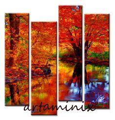 Autumn colors #Handmade #Paint #Art