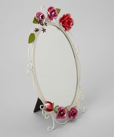 Another great find on #zulily! Hot Pink Bella Rosa Vanity Mirror by Jacki Design #zulilyfinds