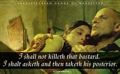 15 Iconic Gangs Of Wasseypur Dialogues Translated To Shakespearean English