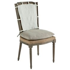 Aidan Gray Furniture Ethan Chair with Slipcover Set of 2