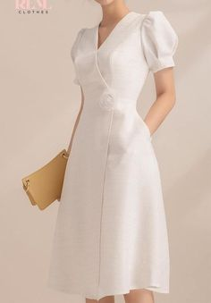 Misses' Dresses Sewing Pattern – nadir dress vintage dress a… - Schnittmuster Stylish Dresses, Simple Dresses, Women's Fashion Dresses, Elegant Dresses, Pretty Dresses, Women's Dresses, Vintage Dresses, Beautiful Dresses, Dress Outfits