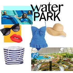 Let's go swimming! by lumwinkle on Polyvore featuring David & Young and Lime Crime