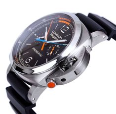 """OFFICINE PANERAI LUMINOR Regatta. Well, I guess if you lose your anchor, you could always use something this ridiculously huge and heavy as your """"Plan B"""""""