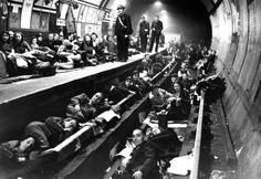 Seventy-nine of London's tube stations served as air raid shelters during the Nazi Blitz of 1940. Although they provided a great deal of protection against the lethal bombs of the Luftwaffe, the stations could not survive a direct hit by a heavy explosive.