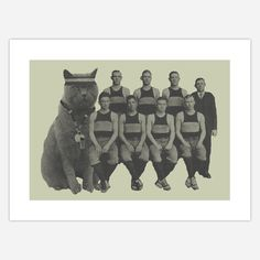 Really dig this picture. Fab.com | Coach Cat Lithograph