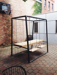 amy schumer's boyfriend makes GORGEOUS furniture!