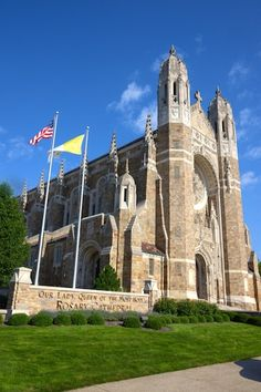 Our Lady, Queen of the Most Holy Rosary Cathedral in Toledo, OH Holy Rosary Cathedral, Toledo Cathedral, Catholic Churches, Ohio Buckeyes, Toledo Ohio, Our Lady, Wander, City