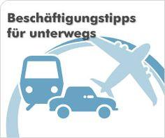 Beschäftigungstipps: Wie hält man die Kids unterwegs und auf Reisen beschäftigt?