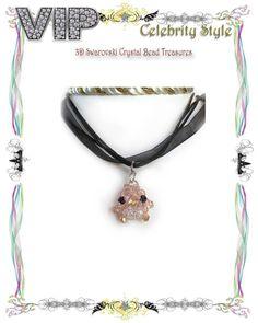 DIY Jewelry KIT *New Beautiful Swarovski Crystal Penguin Pendant Necklace